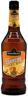 Hiram Walker Liqueur Orange Curacao 750ml - Case of 12